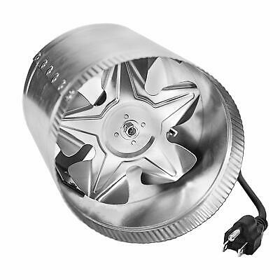 """iPower 6"""" Inch 240CFM Booster Fan Inline Ducting Vent Hose Exhaust Intake Blower"""