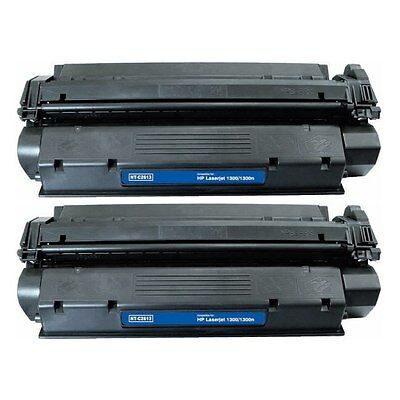 2-PACK Toner Cartridges Compatible with HP 13X (Q2613X) for LaserJet 1300 1300n
