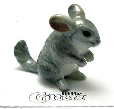 """Little Critterz LC937 -  """"Andes"""" a darling Chinchilla (Buy 5 get 6th free!)"""