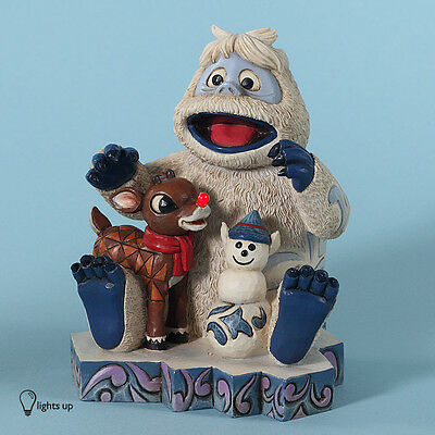 Rudolph and Bumble Deluxe Figurine Free S&H