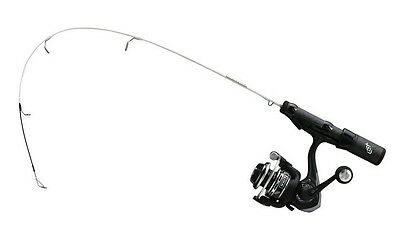"""13 Fishing White Out Ice Fishing Rod Reel Combo 20.5"""" L Evolve Guides WOC205L"""