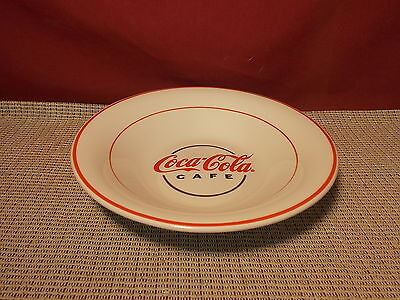Gibson China Coca Cola Cafe Pattern Soup Bowl