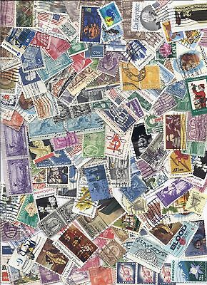 US Used Stamp Lot Off Paper Mixture 8 ounces+ Kiloware - Too many to count!*