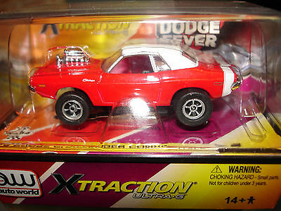 AUTO WORLD ~ '70 DODGE CHALLENGER CONV. ~ NEW IN JEWEL ~  ALSO FITS AW, AFX, JL