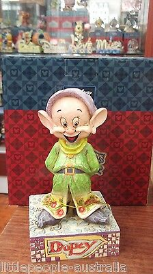 Disney Jim Shore Snow White and 7 Dwarfs Dopey Figurine Collectable New