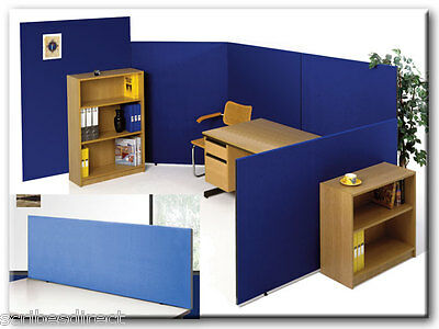 Office Partition Screen/ Room Divider/ Privacy Office Screens, 3 COLOUR CHOICE