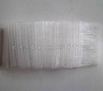 """1000 CLEAR Price Tag 2""""(2 inch) Barbs Fasteners for FINE Tagging Gun TOP QUALITY"""