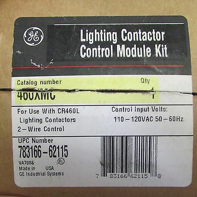 GENERAL ELECTRIC GE 2 Wire Control Kit for Lighting Contactor 460XMC