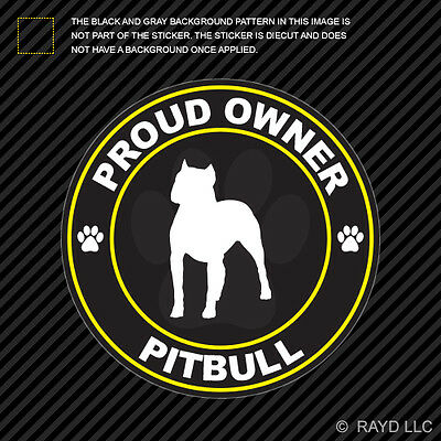 Proud Owner Siberian Husky Sticker Decal Vinyl dog canine pet