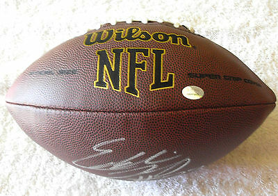 Eddie Lacy Signed Green Bay Packers Nfl Football Gtsm Coa Lacy Hologram