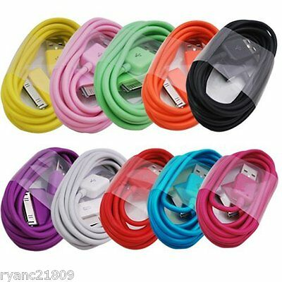 1/10 3FT 6FT 10FT USB Data CHARGING CABLE CORD for iPHONE 4S 4 3G IPOD TOUCH 4