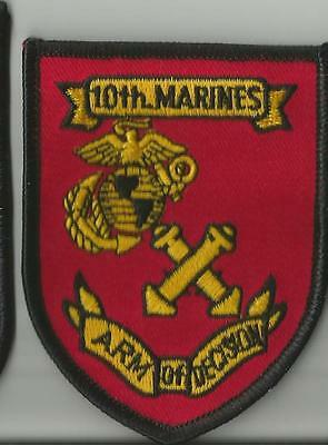 Marine Corps - 10th Marines Patch - New