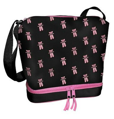 Embroidered Ballet Shoes Dance Tote Bag ~ # 395