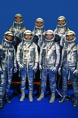 New 5x7 NASA Photo: The Original Mercury Seven Astronauts