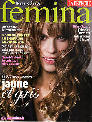 French mag 2008: HILARY SWANK