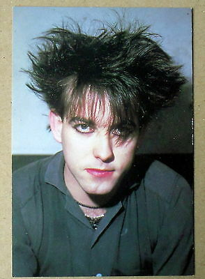 Carte postale Robert Smith, The Cure,CPSM