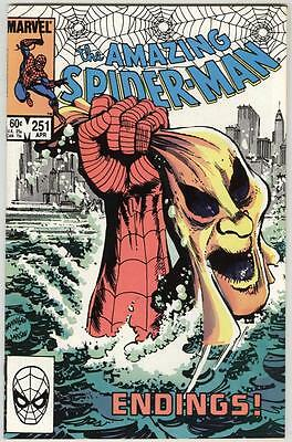 Amazing Spider-Man #251 April 1984 NM+ Hobgoblin story ends