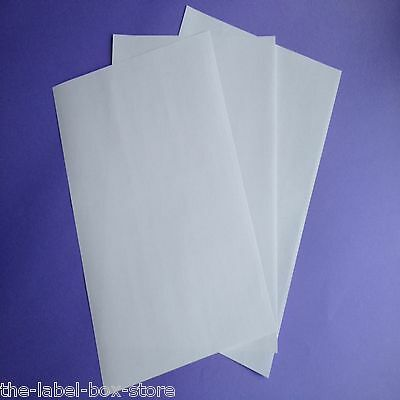 A4 White Matt Self Adhesive Freezer Labels Frozen Food Storage Labels 10 Sheets