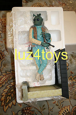 Gentle Giant Star Wars Greedo Statue 2010 PGM Exclusive Limited to 400 SOLD OUT