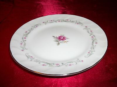FINE CHINA OF JAPAN, ROYAL SWIRL PATTERN, BREAD/BUTTER PLATE