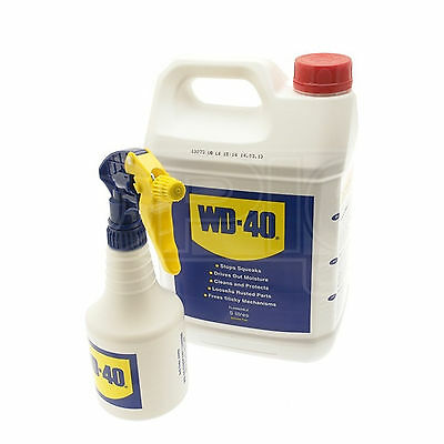 WD-40 WD40 5 LITRE TUB with applicator - Original lubricating & release spray