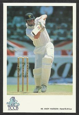 ANDY HUDSON -- SOUTH AFRICA. OFFICIAL TCCB  POSTCARD No. 46.