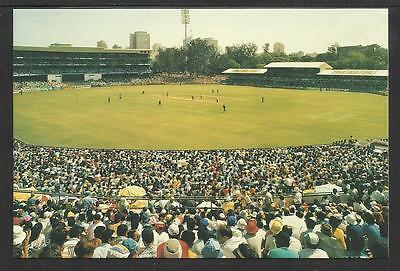 KINGSMEAD CRICKET GROUND SOUTH AFRICA. OFFICIAL TCCB  POSTCARD No. 10.