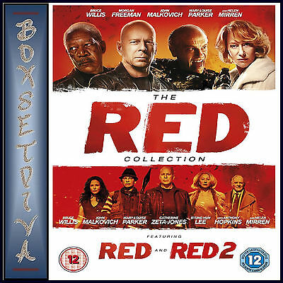 Red 1 & 2 -  The Red Collection   **brand New Dvd **