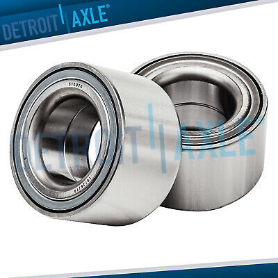 Set of (2) New Front Press-On Wheel Hub and Bearings for Pontiac Scion Toyota