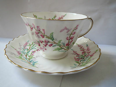 Royal Doulton - Bell Heather H4827 - Cup And Saucer