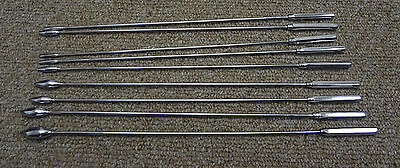 BAKES RoseBud Urethral Sounds DILATOR SET Surgical