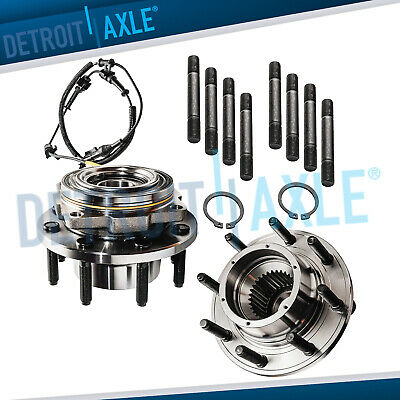 2 Front Wheel Bearing and Hub for 2005 2006 2007 2008 2009 2010 F-250 F-350 4x4