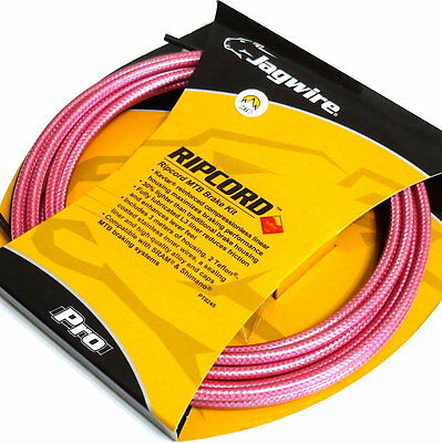 gobike88 Jagwire Ripcord Cable Set for brake,MTB,MCK424,Braided, Rose Thorn, 741