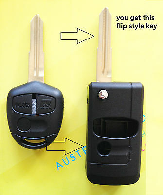 Mitsubishi 3 Buttons Remote Key Shell suit Lancer Colt Mirage  right MIT11R key