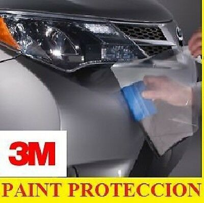 3M Paint Protection Film Roll 3M  fit all cars  12 inch x 7 ft  4MILL Clear Bra
