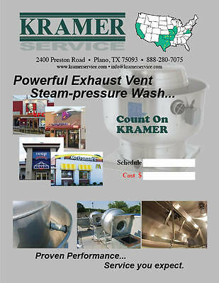 KRAMERSERVICE FRANCHISE (Chicago- central area)