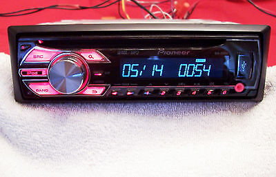 Pioneer DEH-2500UI, CD/MP3/USB, Receiver with Front Aux Audio Input,