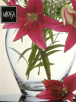 "MIKASA ~ ""PRELUDE"" CLASSIC VASE ~ NEW IN BOX ~ PICK-UP MELB or POST"