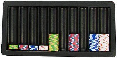 Trademark Poker 10-Row Blackjack Table Tray New Fast Shipping