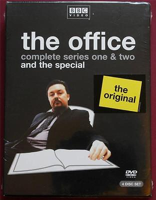 The Office Collection Sealed New (DVD, 2004, 4-Disc Set) Complete Series 1 & 2