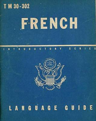 French Language Guide Technical Manual TM 30-302