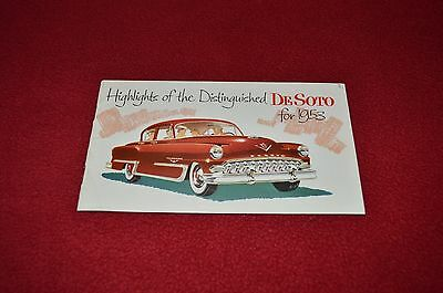 De Soto For 1953 Cars Car Dealer's Brochure GDSD