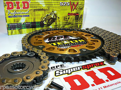 Ktm 990 Adventure 2005 - 2009 Supersprox Stealth 525 Did Chain And Sprockets Kit