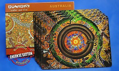 4 Australian Aboriginal Indigenous Souvenir Placemat Wanaka The Circle Of Life