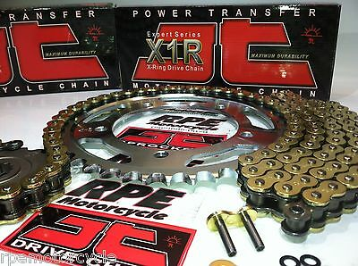 JT GOLD X-Ring HONDA VT600c Shadow VLX600 CHAIN AND SPROCKET KIT OEM or FREEWAY
