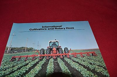 Case International Row Crop Cultivators /& Rotary Hoes Dealer/'s Brochure GDSD