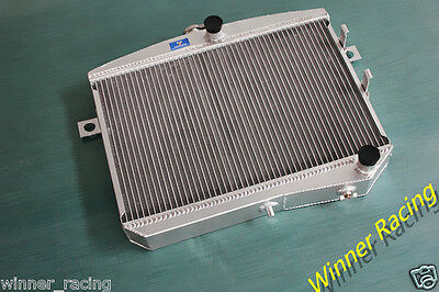 Aluminum Alloy Radiator Fit Volvo Amazon P1800 B18 B20 Engine GT M/T 50MM