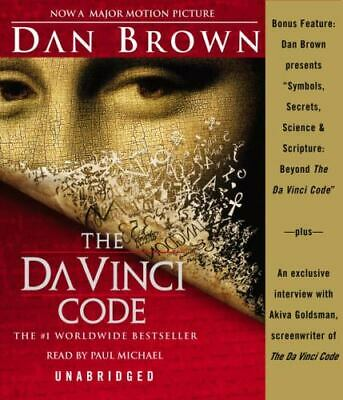 da vinci code book on tape