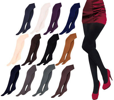 WOMENS Microfibre TIGHTS 40 or 100 Denier Various Sizes S M L XL new