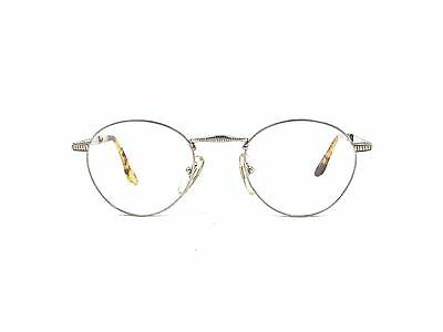 New Men/'s Alaska Adventure 10 Gold Square 52 18 135 Thin Eyeglasses Frames Italy